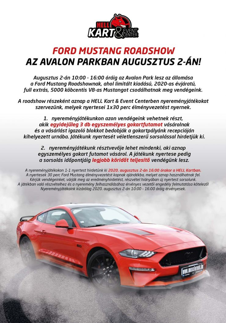 Avalon Resort SPA - Ford Mustang Roadshow